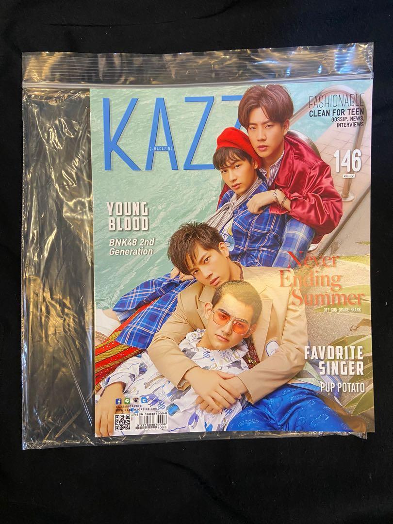 KAZZ Thai Magazine Vol. 12 No. 146(Off-Gun-Drake-Drake-Frank & Sean-Pim)