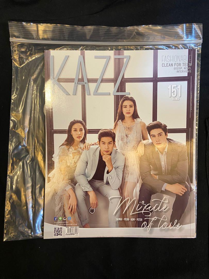 KAZZ Thai Magazine Vol. 13 No. 151 (Saint-Perth & Saimai-Peun-Aom-Peter)