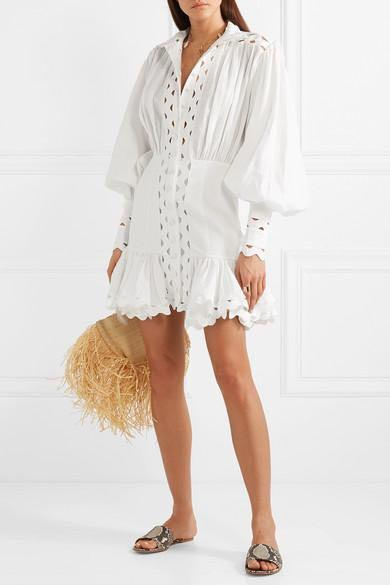 Like Zimmermann - Ninety Six Wave Dress - Size M /10 - BNWT