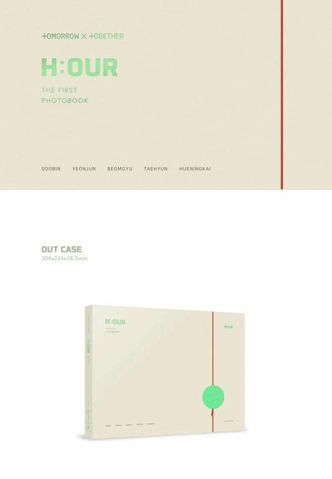 [PO] TOMORROW X TOGETHER THE FIRST PHOTOBOOK H:OUR