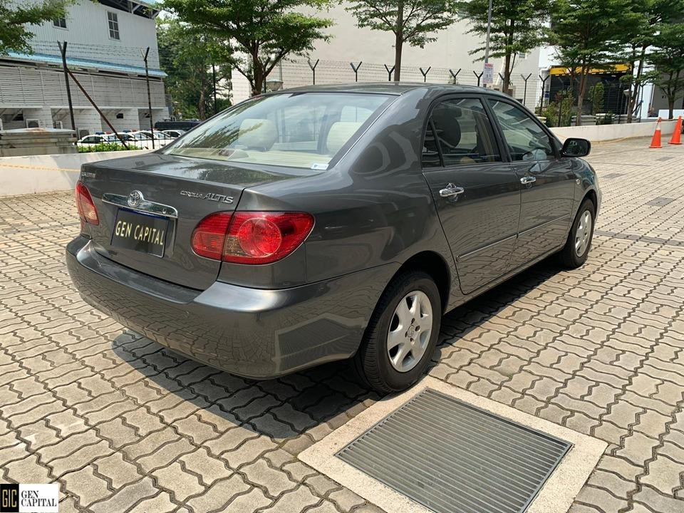 Toyota Altis  Deposit $500 Driveaway Immediately with the cheapest rental! Whatsapp 87493898 for more info