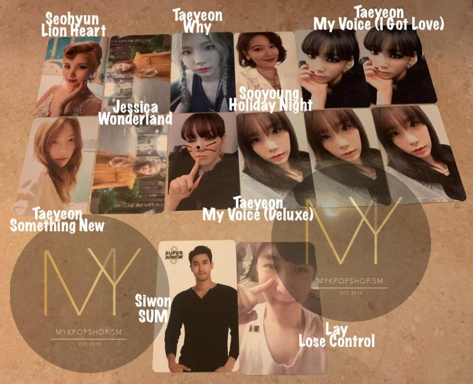 WTT Girls' Generation Sooyoung, Taeyeon & Jessica, Super Junior Siwon, Exo Lay
