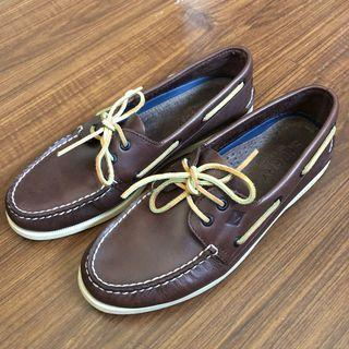 Sperry Topsider Boat Shoes Brown Size 10