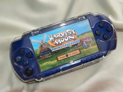 Blue Psp Fat 500+ games installed