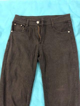 黑色牛仔褲 緊身褲