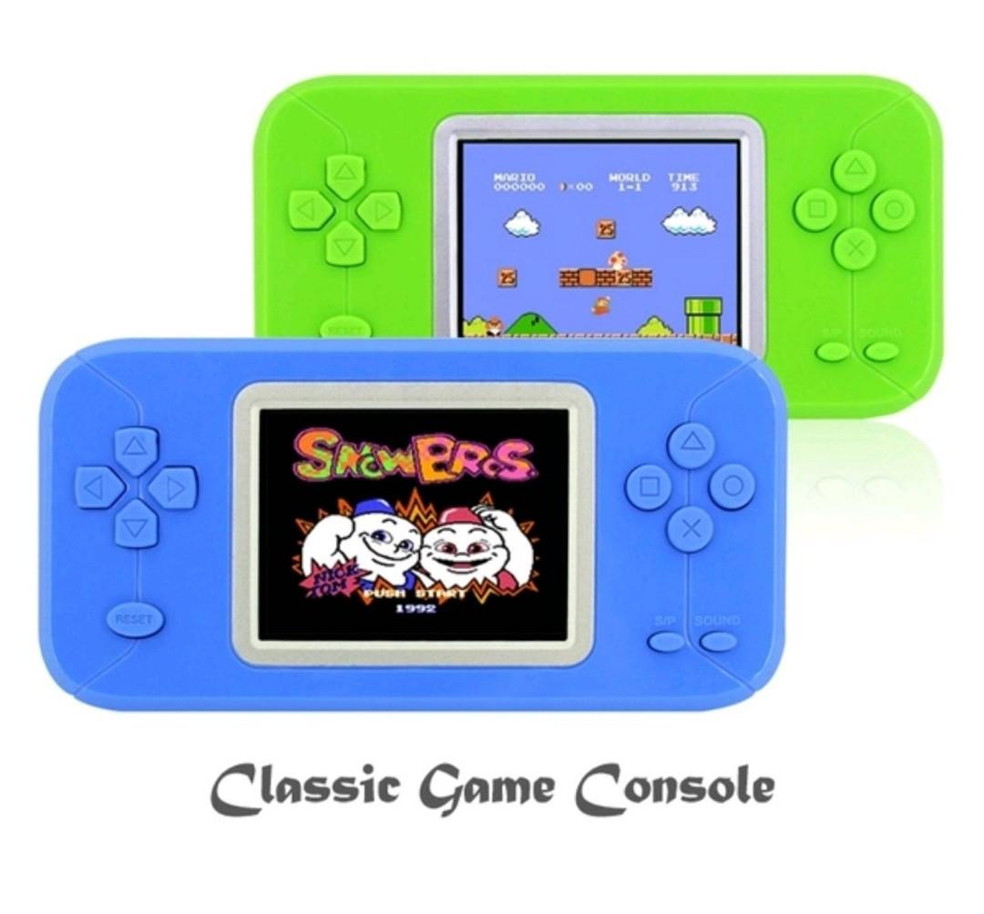 200 Retro Games Pocket Pad Classic Game Console with Color Screen