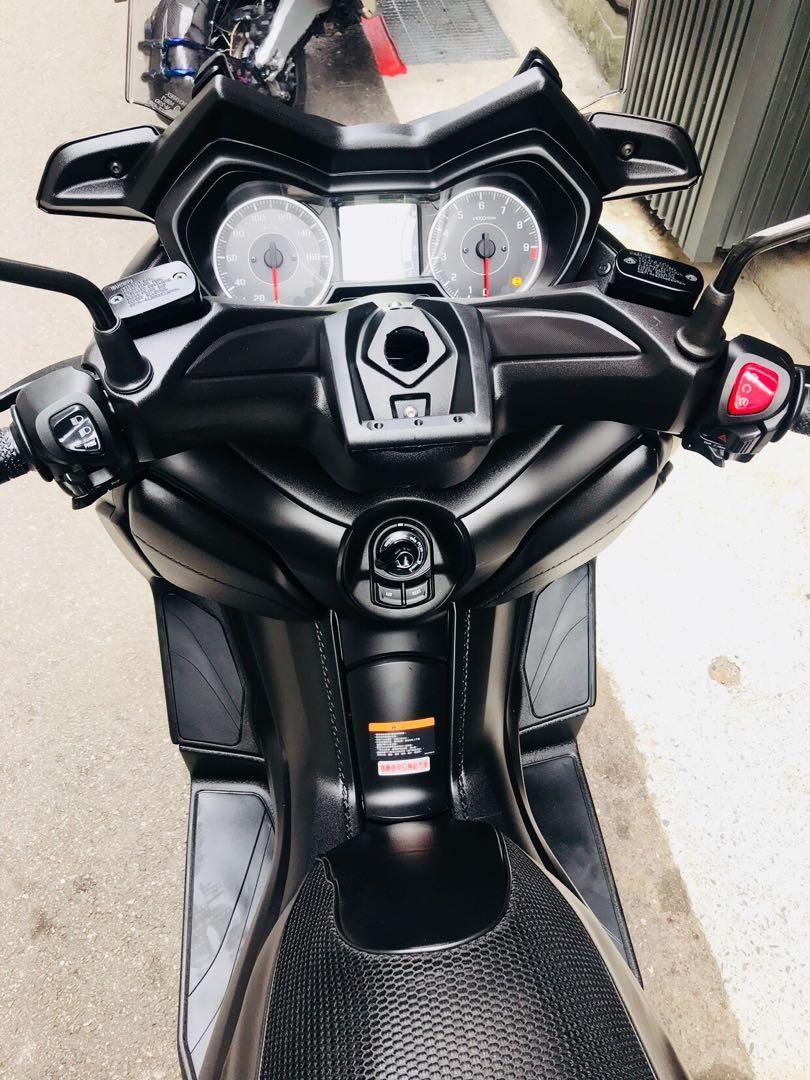 2017年 Yamaha Xmax ABS 只跑四千公里 可分期 免頭款 歡迎車換車 網路評價最優 業界分期利息最低 大羊 黃牌 tmax AK550 NSS300 AN400 可參考