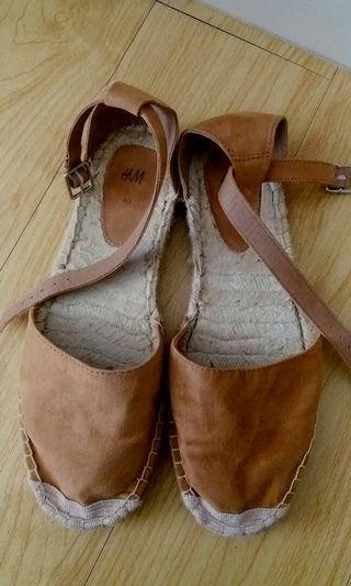 綁帶草編鞋Sandals