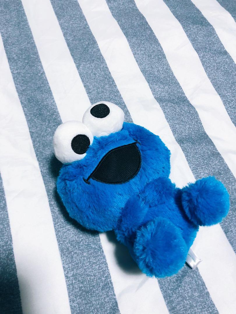 Cute Baby Cookie Monster Soft Toy Toys Games Stuffed Toys On Carousell