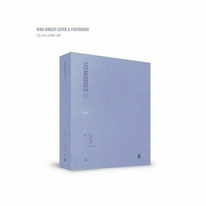 BTS Memories of 2018 DVD Photobook + 4Dics + Paperframe