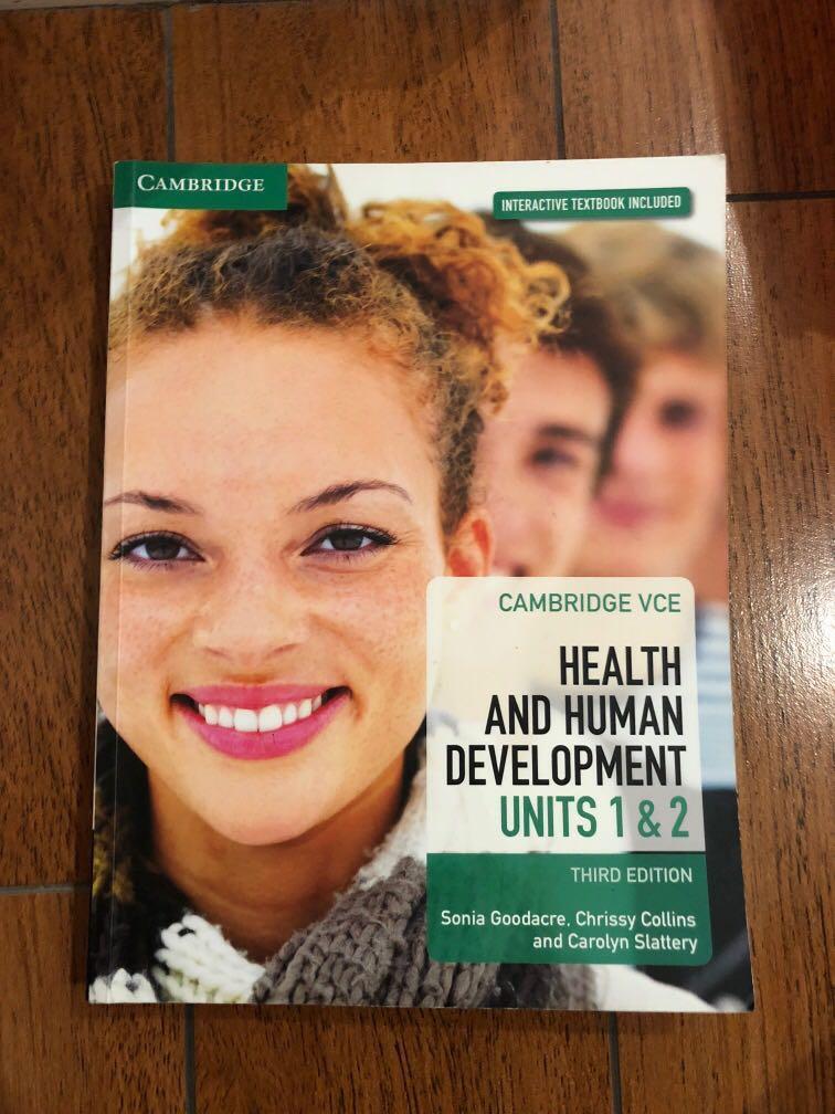 Cambridge VCE health and human development units 1 & 2