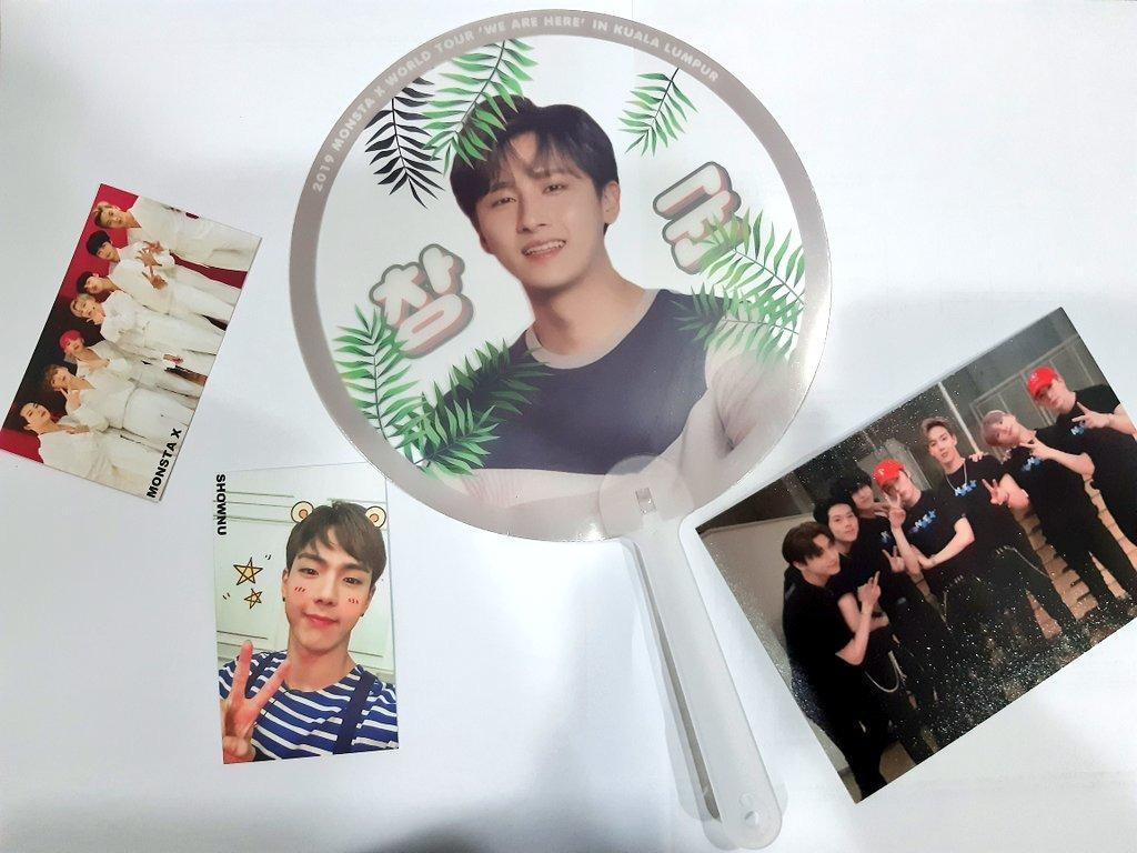[CLEAR STOCK] MONSTA X FANKIT - GROUP / HYUNGWON / I.M.