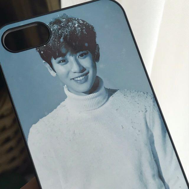 exo chanyeol sing for you photoshoot phone case 🌨🤍