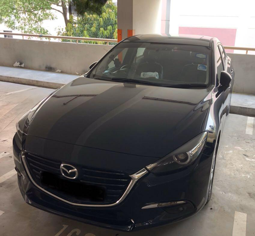 For Rent Mazda 3 Skyactive 1.5A