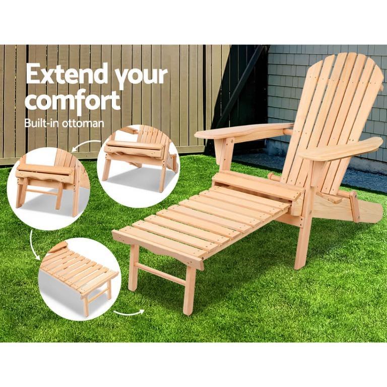 Gardeon Outdoor Sun Lounge Chairs Patio Furniture Beach Chair Lounger