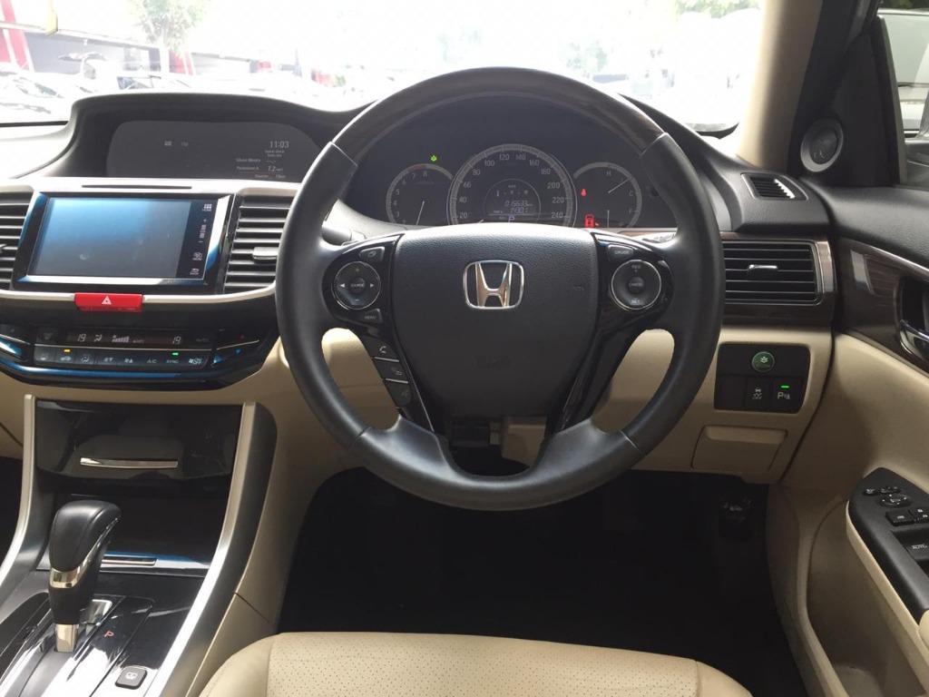 Honda Accord 2.4 VTiL 2017 Silver, Km 15 Rb, Top Condition No Pol Ganjil