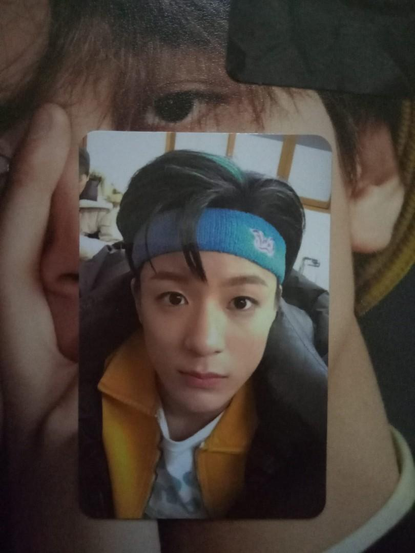 NCT DREAM JENO LEE MY FIRST AND LAST official photocard