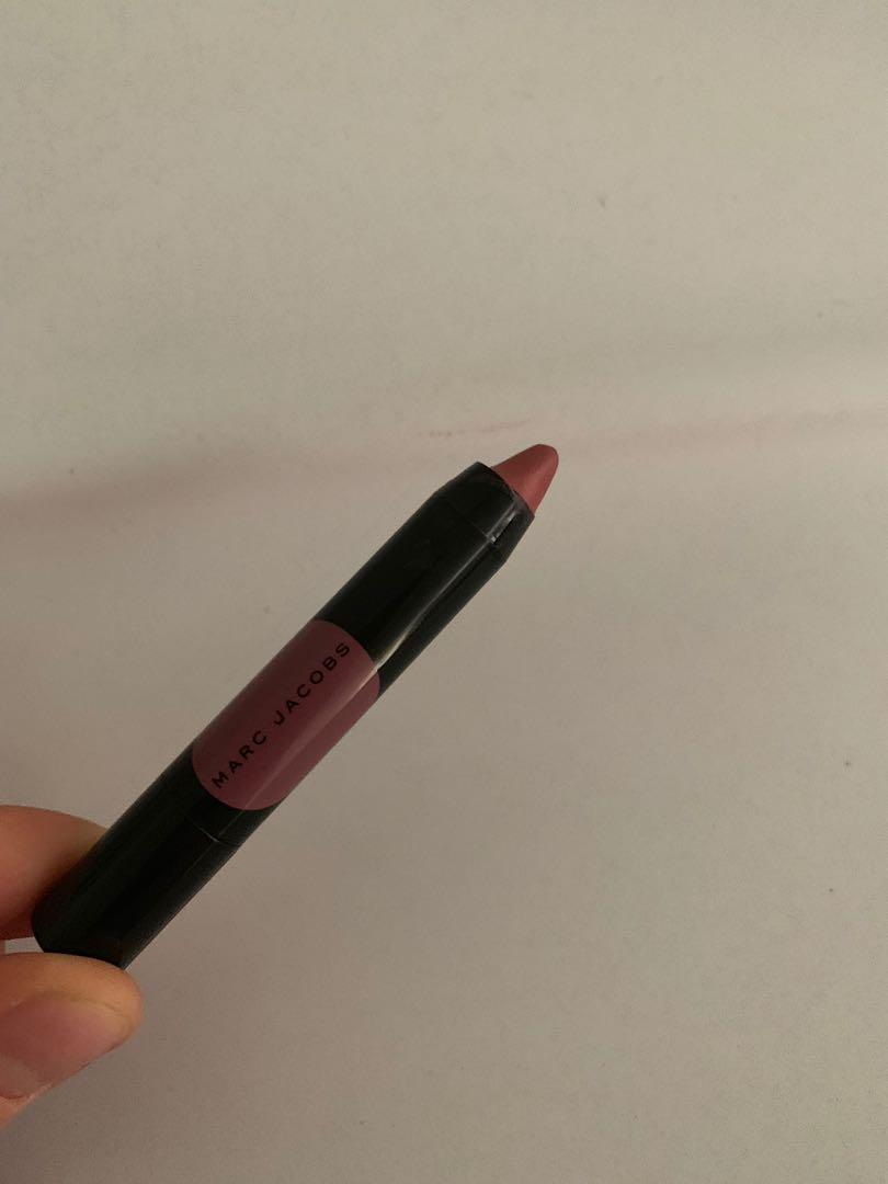 New mini Marc Jacobs lip crayon shade night mauves