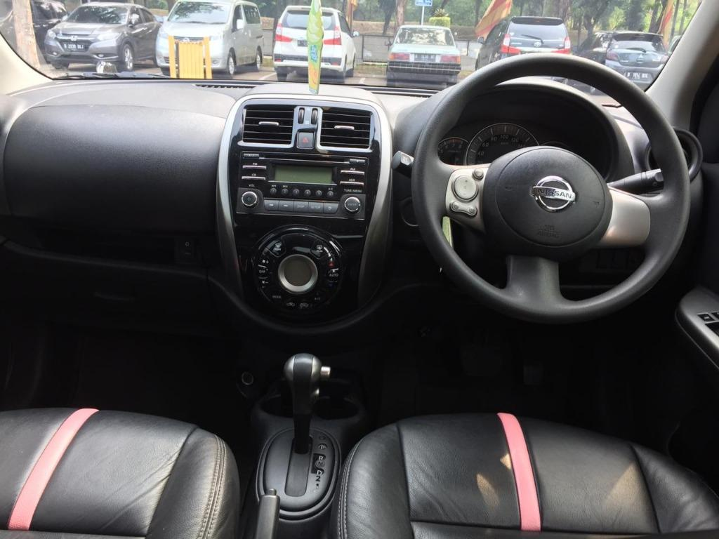 Nissan March 1.2L XS AT 2016 PINK Dp 18,9 Jt No Pol Ganjil