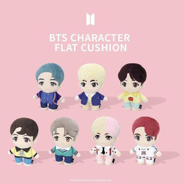 [PREORDER] BTS POP UP - BTS CHARACTER FLAT CUSHION