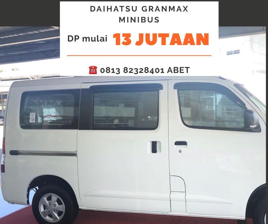 PROMO AKHIR TAHUN Daihatsu Granmax Minibus mulai 13 jutaan