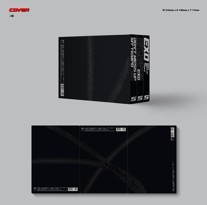 [Ready Stock / Unsealed] EXO-5TH ALBUM - DON'T MESS UP MY TEMPO(MODERATO) +Poster in tube