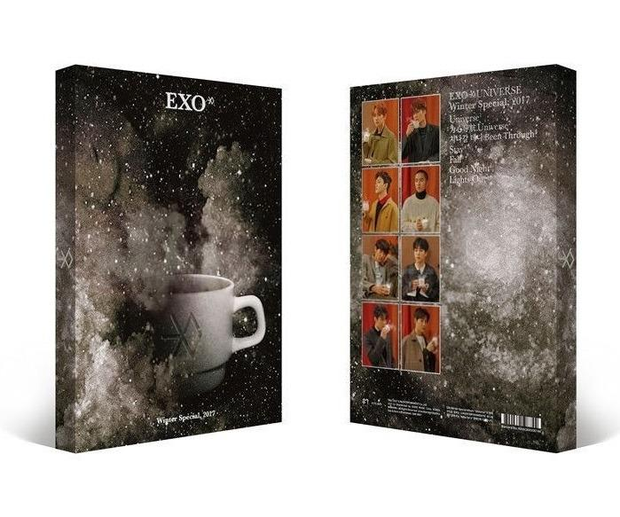 [Ready Stock / Unsealed]EXO 2017 Winter Special Album -UNIVERSE+ Poster In Tube