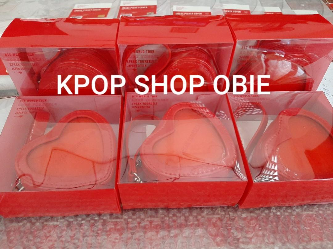 READY STOCK OFFICIAL BTS SYS JAPAN MD - COIN POUCH