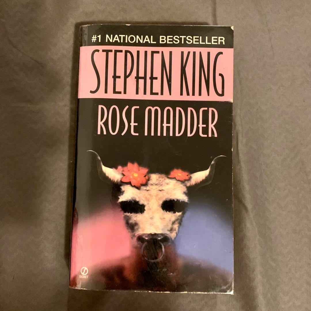 Rose Madder by Stephen King (Read description before asking questions)