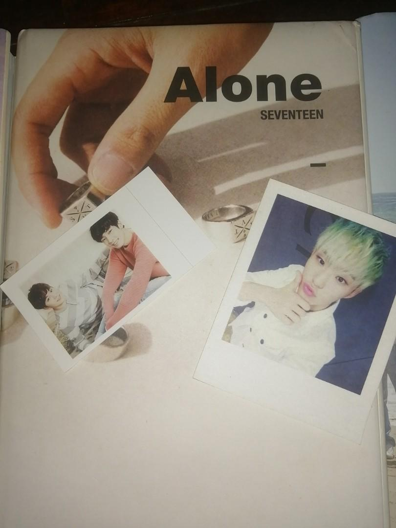 Seventeen A1, A3 & A11 Alone Version KPop Original Album With PC