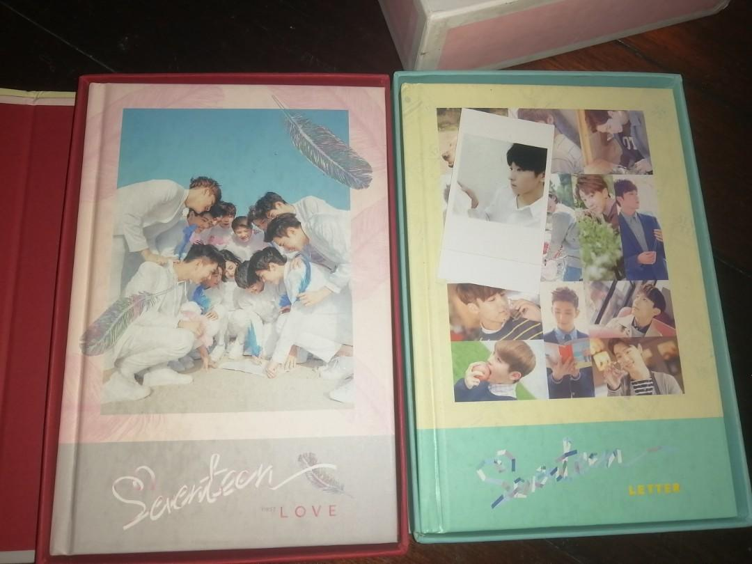 Seventeen Love & Letter Ver KPop Original Album With PC