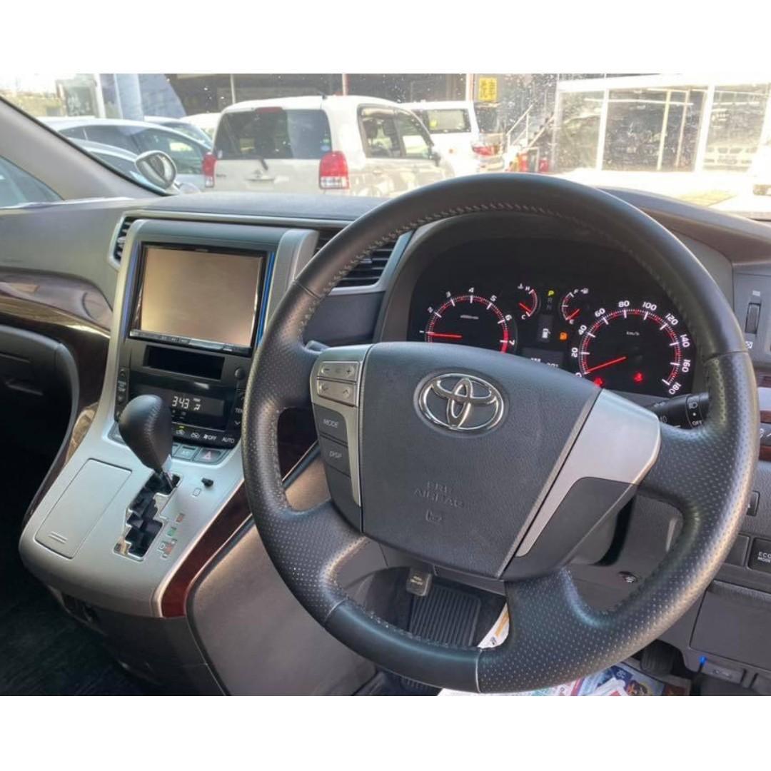 Toyota Vellfire Z Facelift 2.4 - 2012