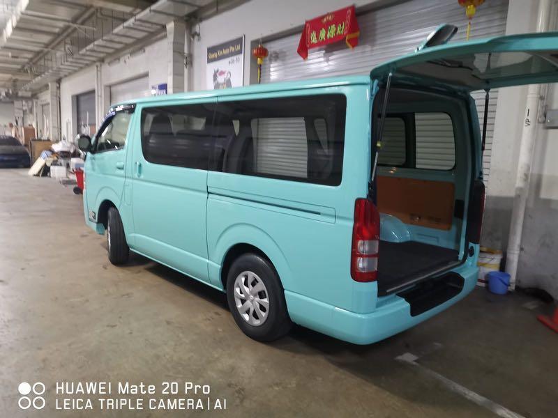 Toyota Hiace Van Rental Van Rental