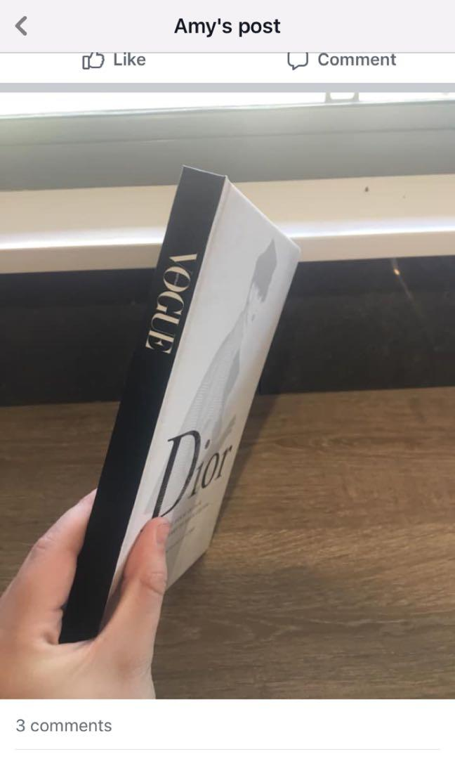 Vogue blank page book ( a couple pages used and ripped out)
