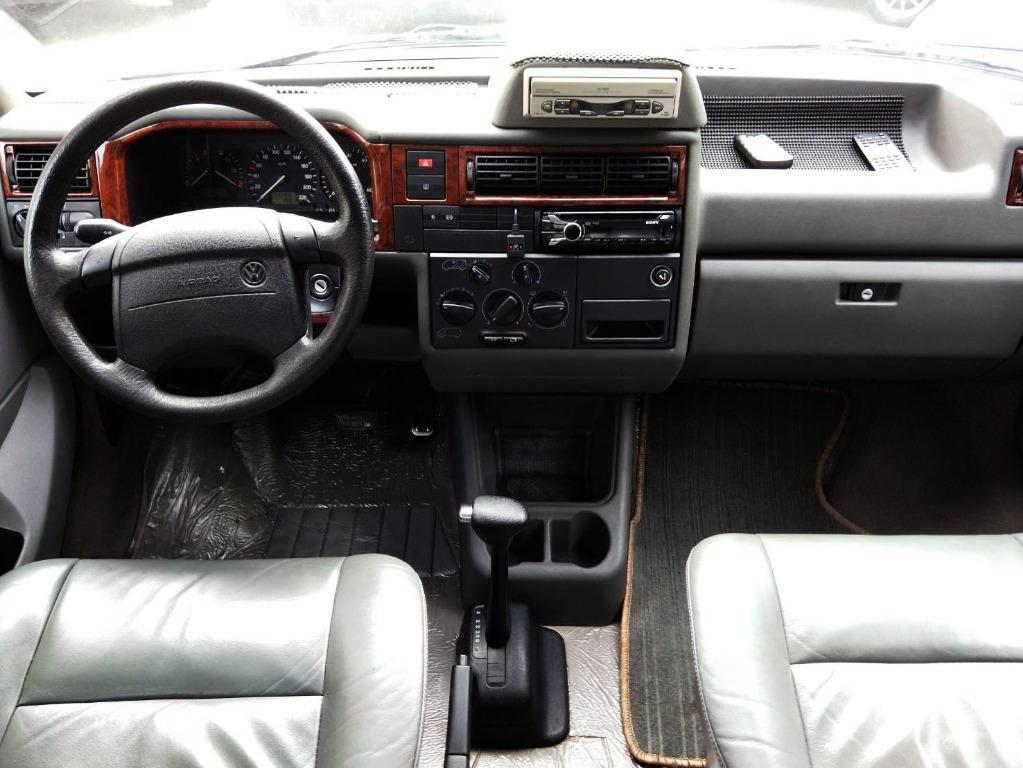 VW福斯 T4頂級 VR6 家庭式休旅車 正8人座 德國原裝進口 BENZ賓士E280同款引擎  登山 露營 全家出遊 一次搞定