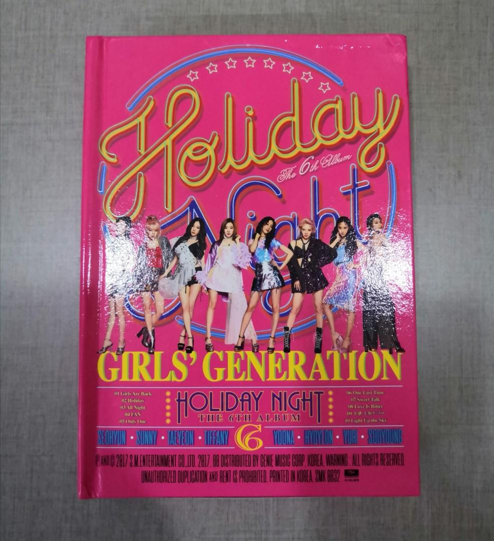 [WTS] GIRLS'GENERATION 'HOLIDAY NIGHT' HOLIDAY VERSION ALBUM