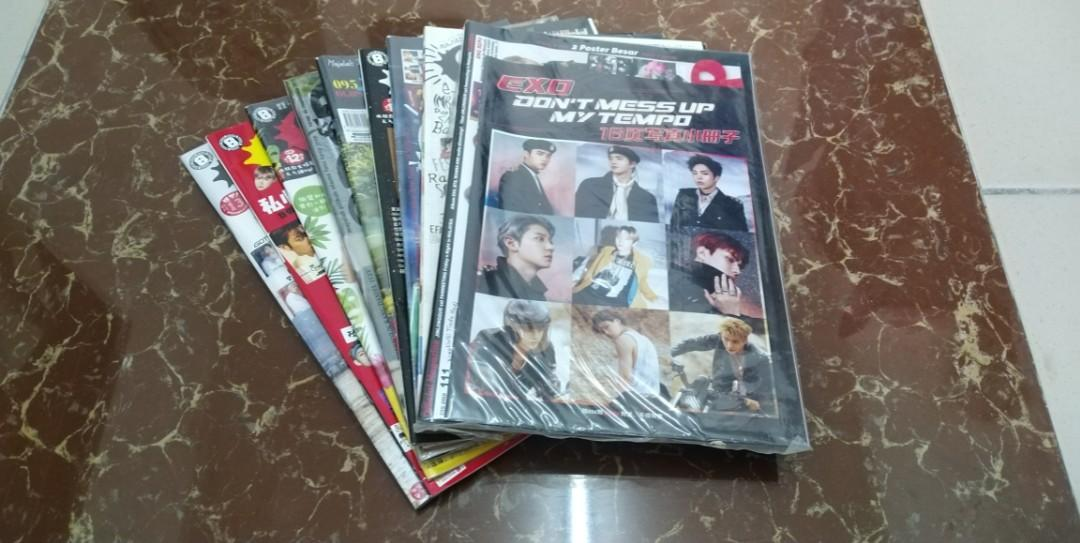[ALL](WTS) EXO SET EPOP MALAY+CHINA (READY STOCK) | CLEARANCE, NEW,SEALED,UNSEALED,COMBO