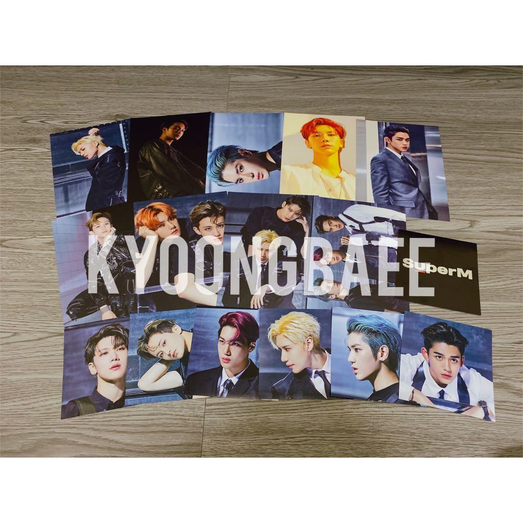 [WTS/READY STOCK] SUPERM US GOODS STICKER AND POSTCARD SET