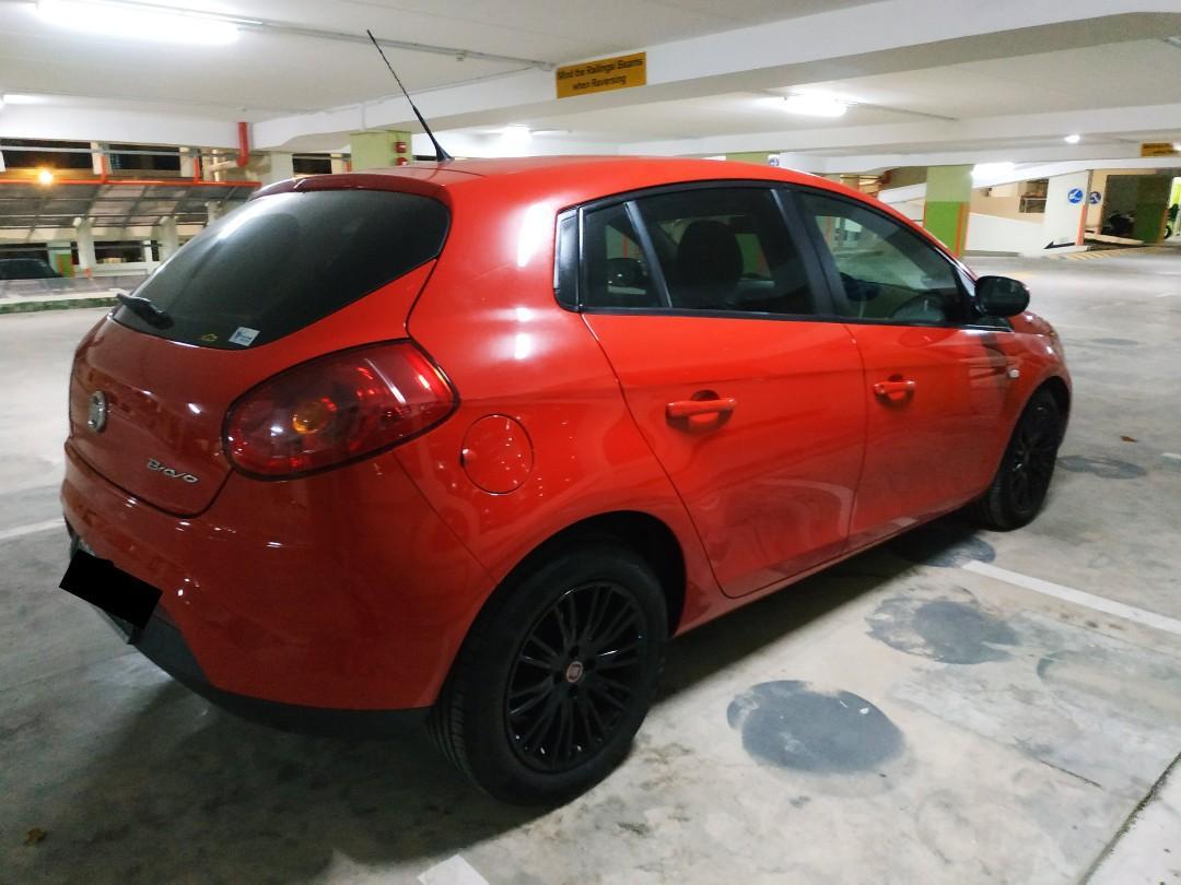 Red Hot CNY Car