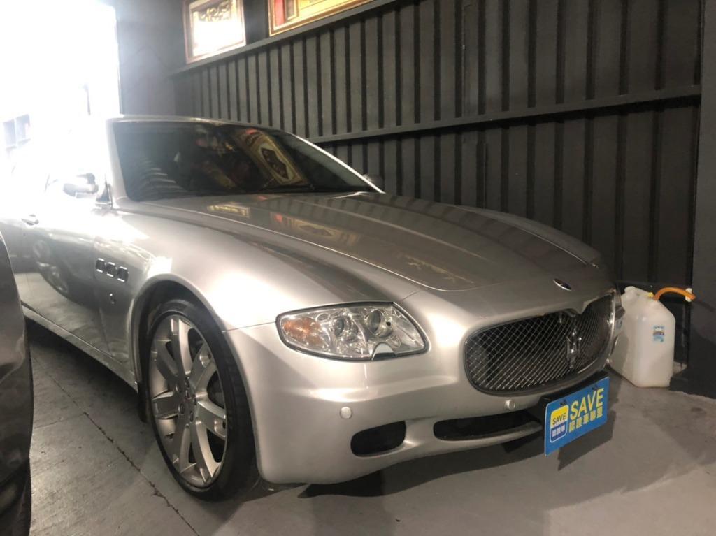2007年 瑪莎拉蒂 快樂波特 輕鬆當馬莎大 Maserati Quattroporte 4.2