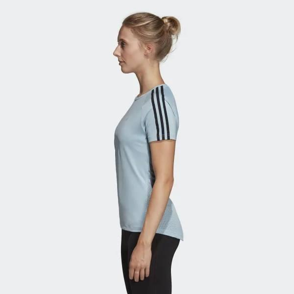 ADIDAS 3-STRIPES Sweat Wicking with a Ventilated Back Tee. BNWT