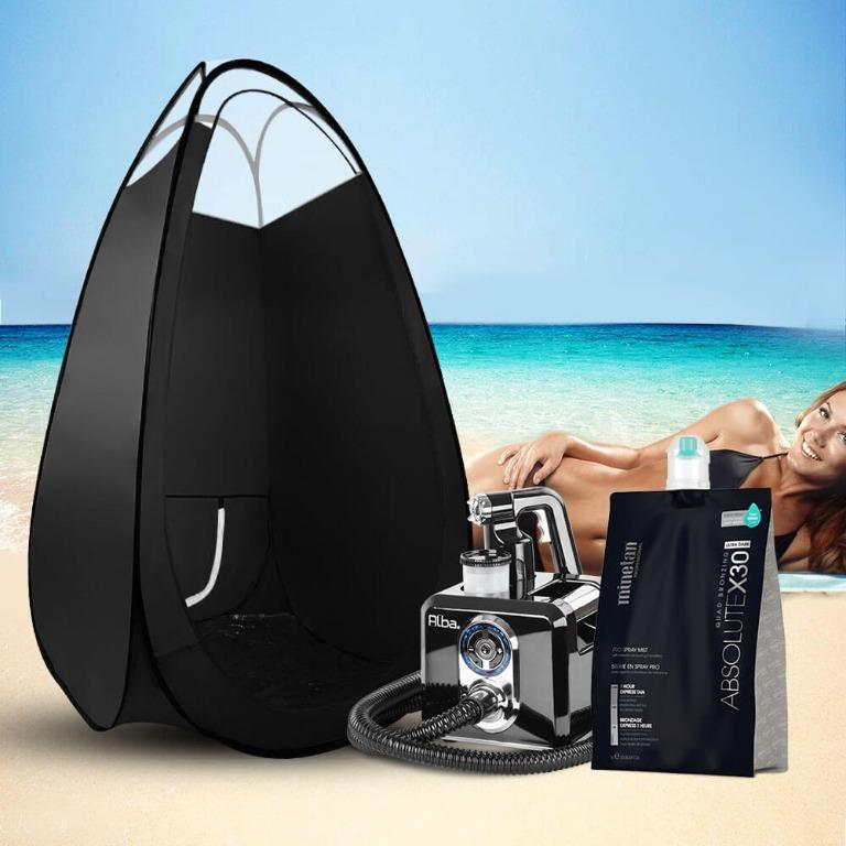 Alba. Spray Tan Machine Solution Spray Tan Tent Kit Sunless HVLP System