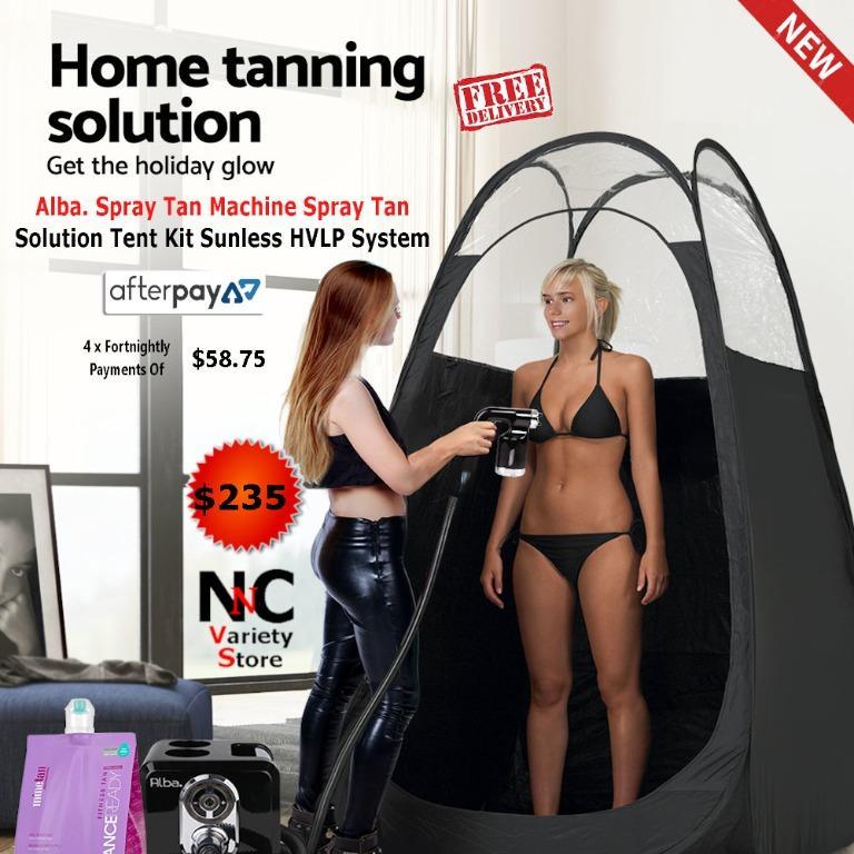Alba. Spray Tan Machine Spray Tan Solution Tent Kit Sunless HVLP System