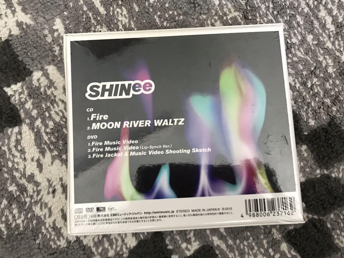 [Jpn Album] SHINee - FIRE (Japan version, CD & DVD)