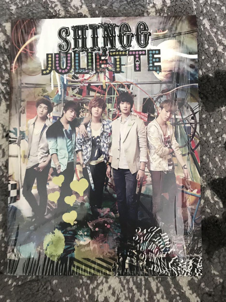 [Jpn Album] SHINee - JULIETTE (Japan version, CD & DVD)