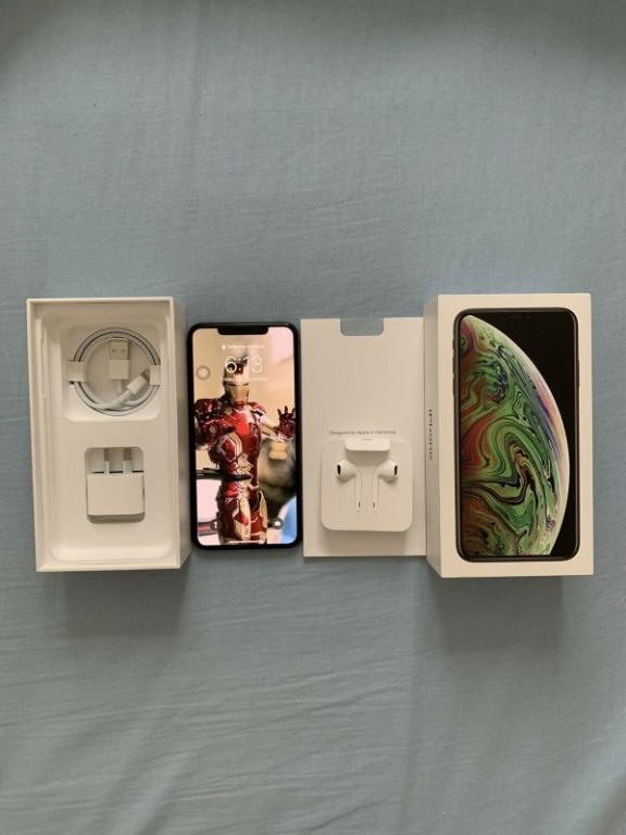 Apple iPhone XS Max - 256 GB - Space Grey (Unlocked) A2101 (GSM) (AU Stock).