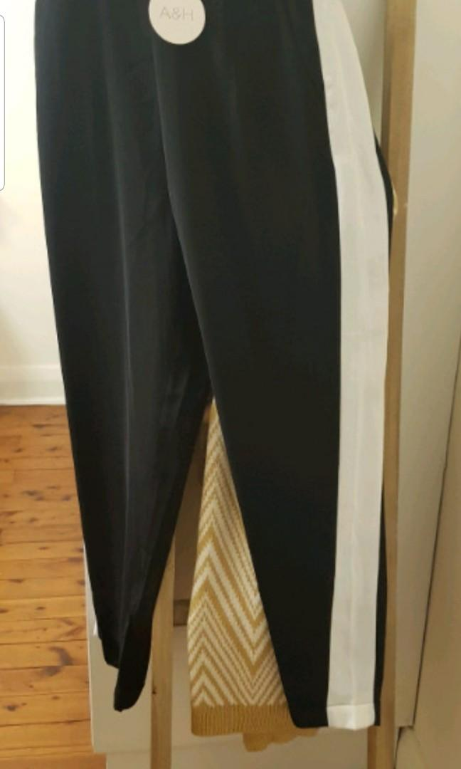 Black and white pants size 12 from atmos and here brand new