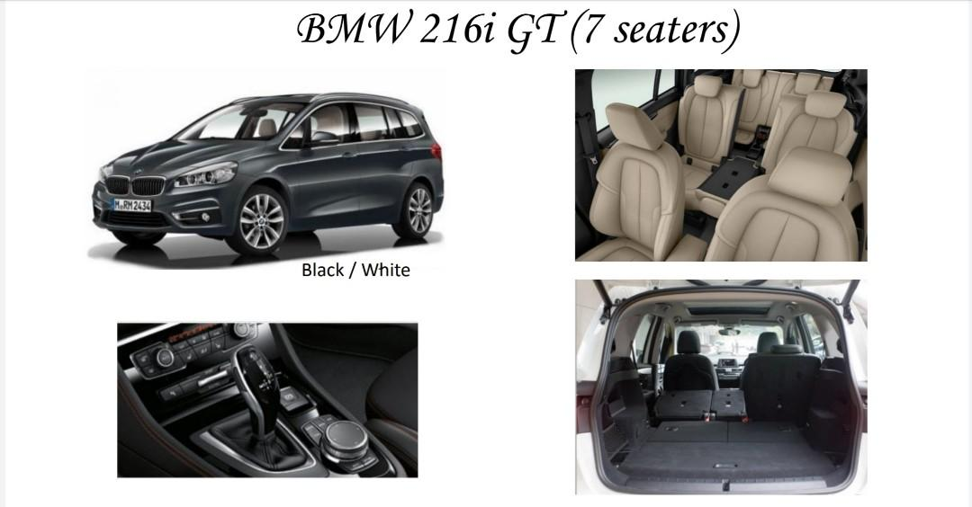 Brand new BMW for rent at CNY promo price extended