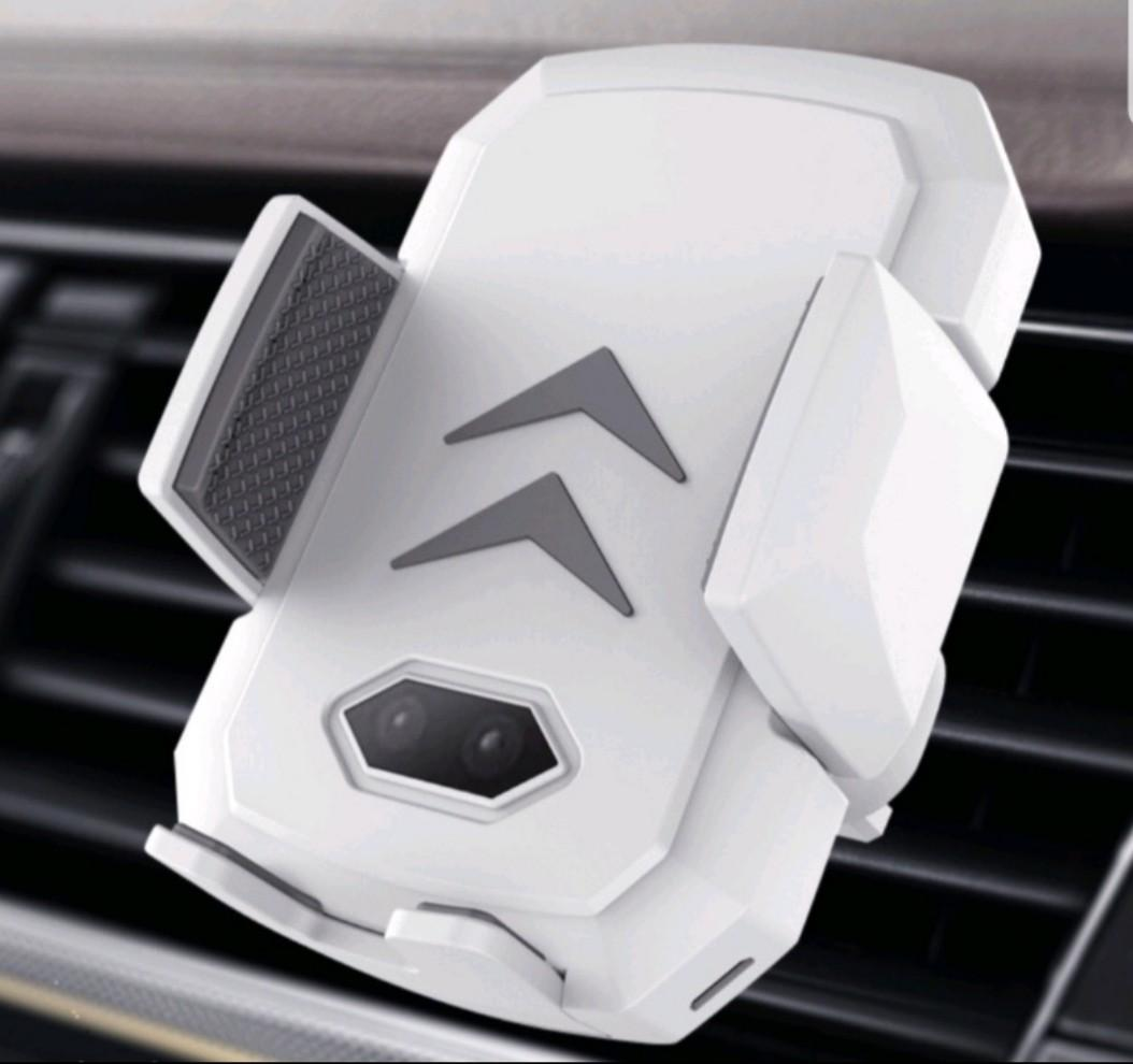 Car Phone Wireless Charger (Available in White and Black Colors)