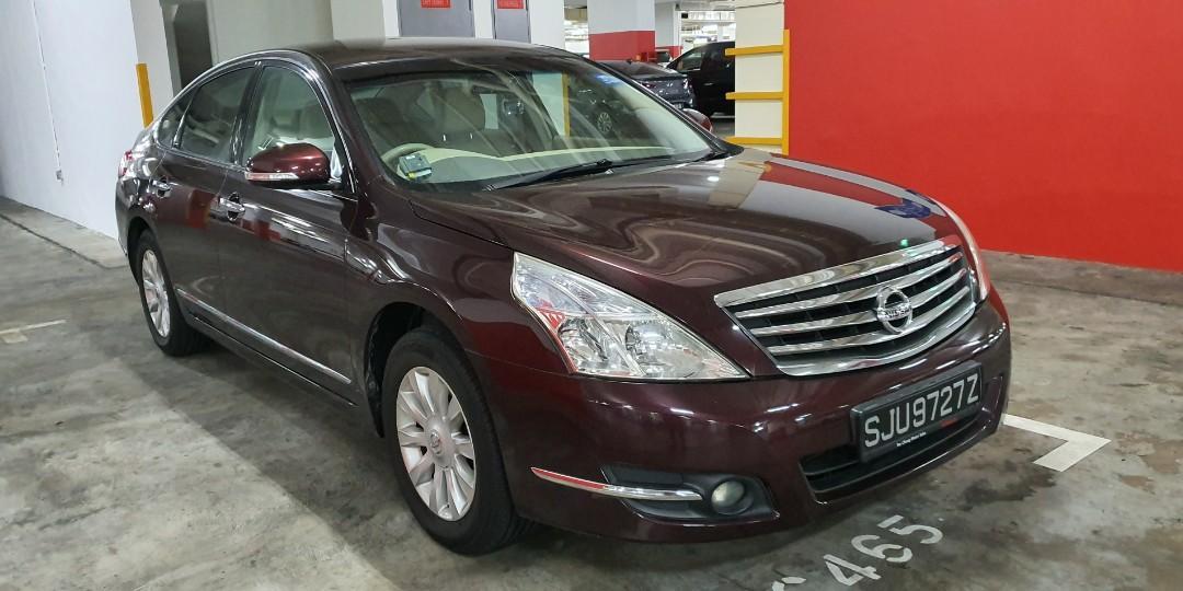 Cheapest rental for year end Nissan Teana luxury sedan